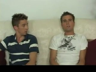 Aiden & sean having homosexual เพศ บน the โซฟา homosexual โป๊ 4 โดย gotbroke