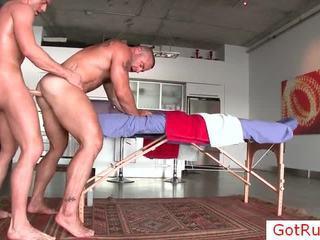 Thực unfathomable đồng tính hậu môn massage