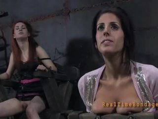Cute lass waits for lusty torment