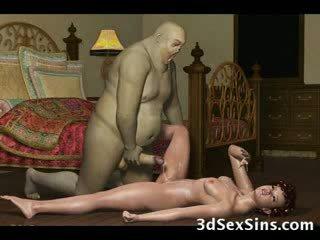 3d demons 他妈的 热 辣妹!