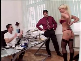 Sharon Da Val - German MILF and two doctors