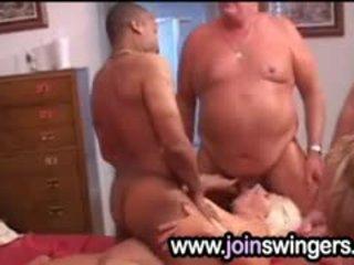 full group sex, swingers, mature great