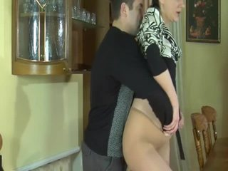 brunette, piledriver, shaved pussy