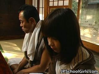 Haru Sakuragi Asian Schoolgirl Has Sex
