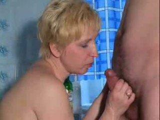 Maduros quente stimulating maduros senhora é jogar com a si mesma