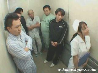 perawat, seragam, asian