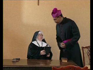 Монахиня порно