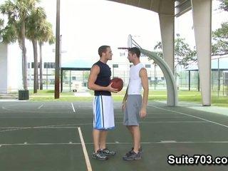 Basketball Players Jake Steel And Micah Jones Fucking