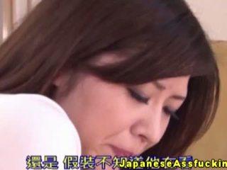 एशियन nippon using एनल बीड्स