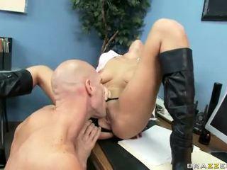 brunette, fucking, beautiful tits, sex