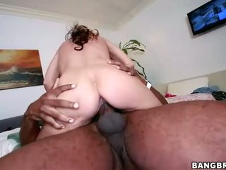 12 Inch Monster Cock Impales Blonde Cunt