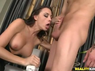 Ramrod Sucking Slut Chanel Prest Stuffs Her Mouth With A Thick Shaft And Enjoys It