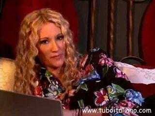 Italian Sexy Blonde Fucked Hard