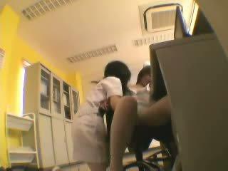 Japanese Nurse Lesbians Video