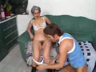 Grandma fucking friend son Video