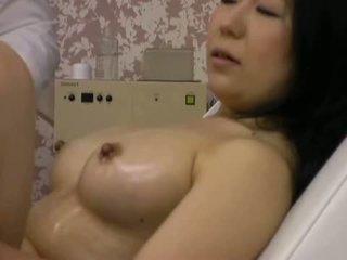 orgasme, sexe, massage, nu
