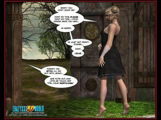 3D Comic Nymph 1