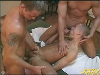 An Athlete S Massage Quickly Turns Into A Raunchy Threesome