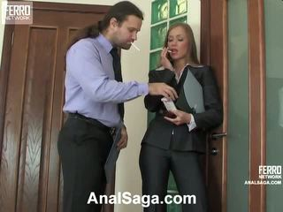 Diana Lesley Anal Couple In Action