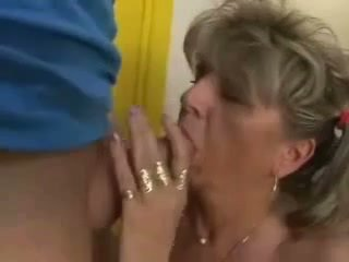 Pigtail Mature Granny Fucked