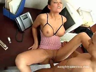 sexe hardcore, lécher plus, qualité gros seins