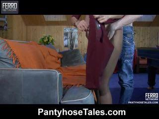 Hot Pantyhose Tales Vid Starring Ninette, Nora, Jaclyn