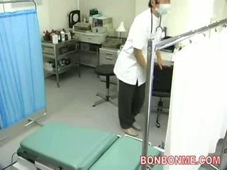 Spycam pro oddělení na gynecology a obstetrics, creampie souložit 001