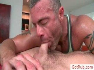 Fellow getting rimmed pendant massage par gotrub