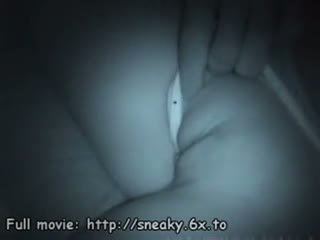 Voyeur films sleeping babe