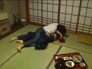 japanisch, sie, bruder, molested