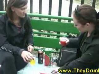 Drunken Lesbian Babes