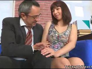 maldito, estudante, hardcore sexo, sexo oral