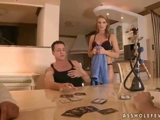 Hot beauty gets her asshole fucked