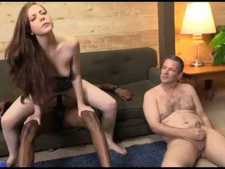Scarlett Fay fucks in front of her hubby