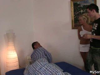 Father seduce his son girlfriend
