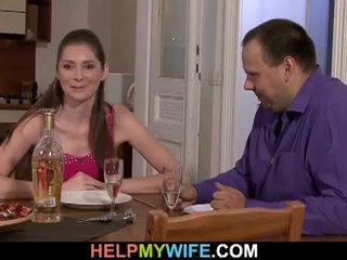 脂肪 夫 pays ザ· ピザ guy tot ファック 彼の 妻