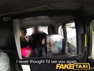 Faketaxi heiß sexy taxi vierer gangbang