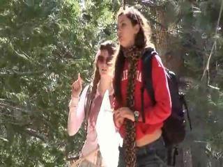 Faye reagan ve georgia jones gitmek dışarı için iş üzerinde thier ilişki