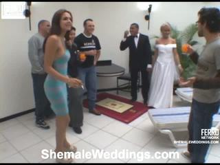 Andria Playful Shemale Bride