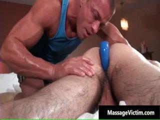 Corey acquires của anh ấy amazingly dễ thương homosexual ass fucked lược cứng 4 qua massagevictim