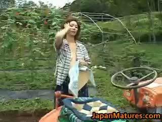 Chisato shouda aziatike moshë e pjekur zoçkë gets part6