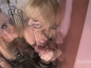 Gitta Blond Babe Like To Blow The Whistle With Ally