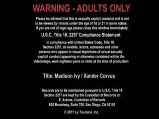 Xander corvus et madison ivy has sexe à la travail