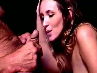 brunette check, hq blowjob watch, cumshot hot