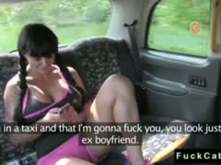 Huge Tits Babe Fucked In And Out Of Fake Taxi
