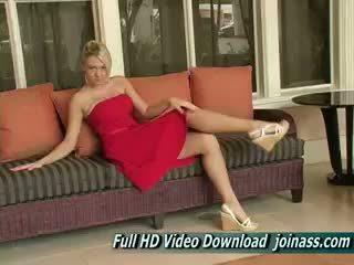 rated tyttö, itsetyydytys uusi, blondi verkossa