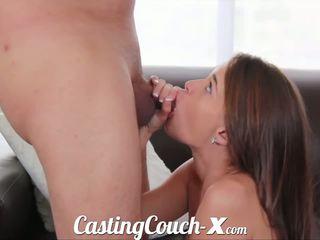 Κάστινγκ couch-x georgia peach excited να κάνω πορνό για $