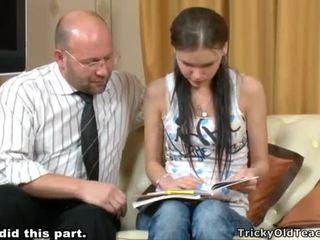 Tricky õpetaja seducing õpilane
