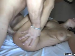 nice brunette fun, young real, squirting
