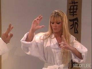 Kung Fu girl gets laid